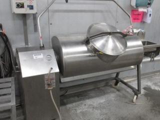 Stainless Steel Tilt Kettle on Casters