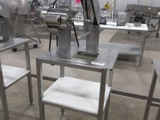 Stainless Steel Meat Saw Including a