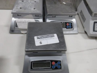 Lot of (3) My Weight Food Scales