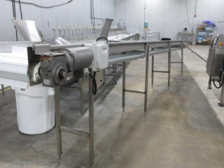 """Cone Deboning System, Conveyor 14"""" X 276"""" (appro"""