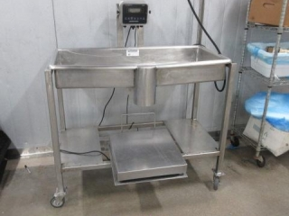 Stainless Steel Mer Weighing Station