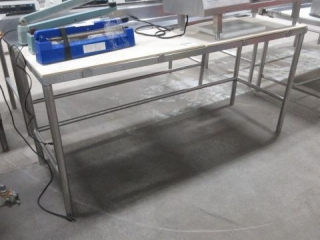 Poly Top Stainless Steel Table,