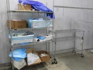 (3) Metro Style Racks on Casters with