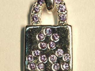 $100 Sterling Silver Amethyst Pendant