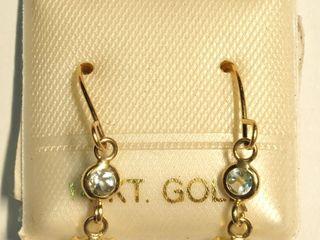 $200 14K Aquamarine Earrings