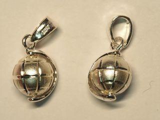 Set of 2 Sterling Silver Pendants