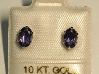 $140 10k Iolite Earrings