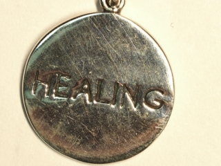 "$100 Sterling Silver ""Healing"" Pendant"