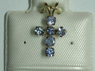 $160 10K Tanzanite Earrings