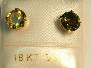 $200 14K Tourmaline Earrings