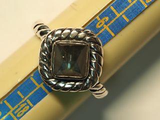 $200 Sterling Silver Labradorite Ring (5.16g)