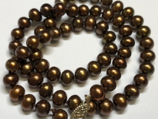 $621 10K Pearl Necklace