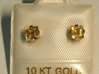 10K Gemstone Earrings