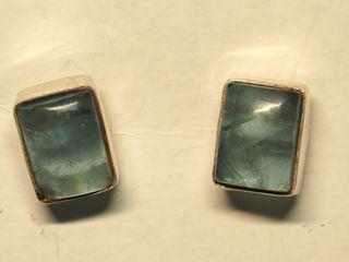 $100 Sterling Silver Gemstone Earrings