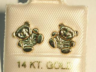 $120 14K Gold Earrings