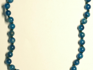 $100 S/Silver Clasp Amazonite Necklace (app 25g)