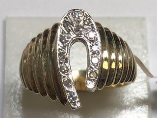 $2250 14K  Diamond 4.79Gm Ring