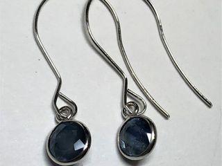 $1005 14K Sapphire Earrings