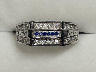 $160 S/Sil CZ Ring