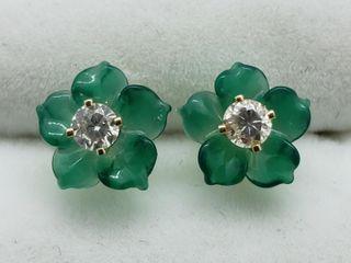 $800 14k Gold Diamond (0.17cts) 2-in-1 Earrings