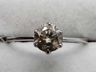 $3800 10K Fancy Light Brown Diamond 1.50Gms Ring