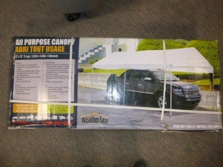 NEW ALL PURPOSE CANOPY 10X20'