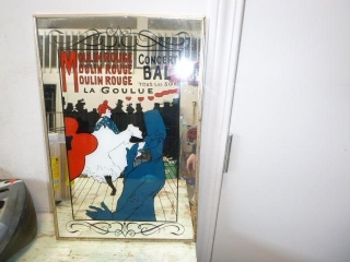 MOULIN ROUGE MIRRORED SIGN
