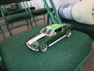 DIECAST 1967 FORD MUSTANG