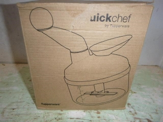 NEW QUICKCHOP BY TUPPERWARE