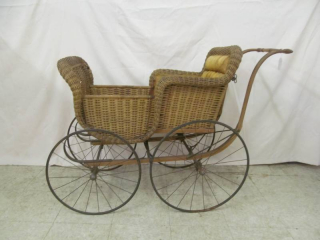 vintage baby buggy