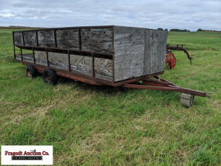 20? double sided hay wagon, 8? wide
