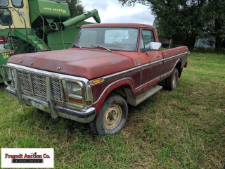 1979 Ford F150 Ranger, 4x4, 4 speed manual, shows