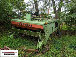 (2) Owatonna Swather for Parts with Ford 200 engin