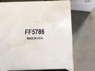Unknown Filter FF5786 UNRESERVED