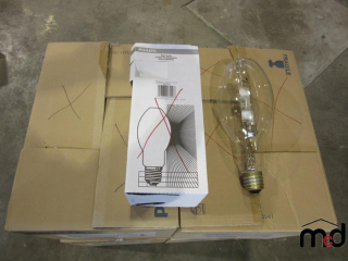 Case of Six 400W Halide Lamps - Must Take 4 Times the Bid Price UNRESERVED