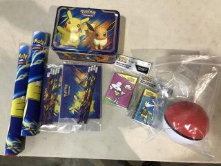 Assortrment of Pokemon Items UNRESERVED