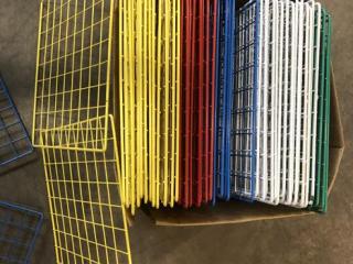 Metal Bracketing & Wire Shelving UNRESERVED