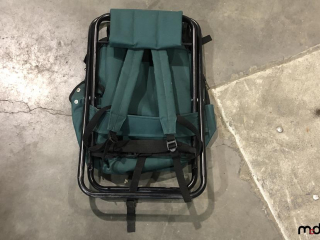Foldable Back Pack/Chair UNRESERVED