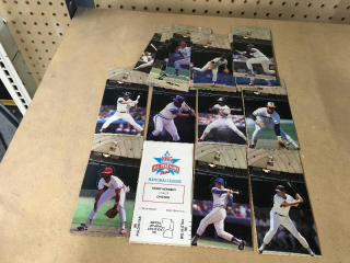 1985 MLB All Star Game Pop Up Figures