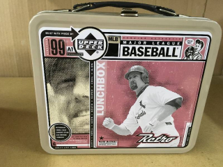 Upper Deck Mickey Mantle/ Mark McGwire Lunch Box