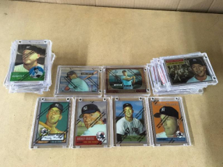 1996 Topps Chrome Mickey Mantle Commemorative Set - Complete!