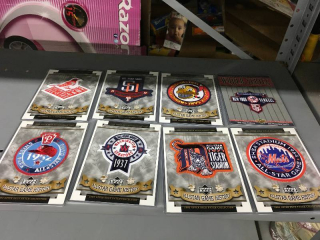 Upper Deck MLB World Series & All Star Game Patches