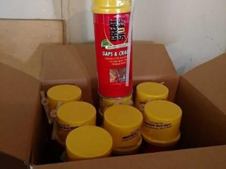 8 cans Great Stuff insulating foam sealant, new