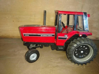 International harvester toy tractor by Ertl