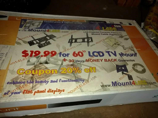 LCD TV ceiling mount new in package