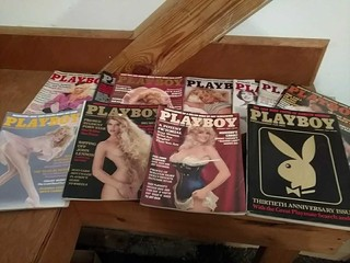 Playboy magazines, 1984 all issues except July,