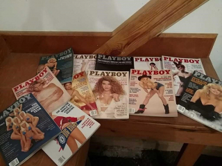 Playboy magazines, 1992, all 12 issues