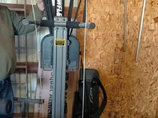 Bowflex, needs new mount for weights