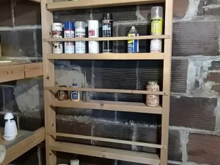 Consumables, shelving not included