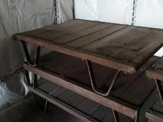 Industrial pallet, bottom only